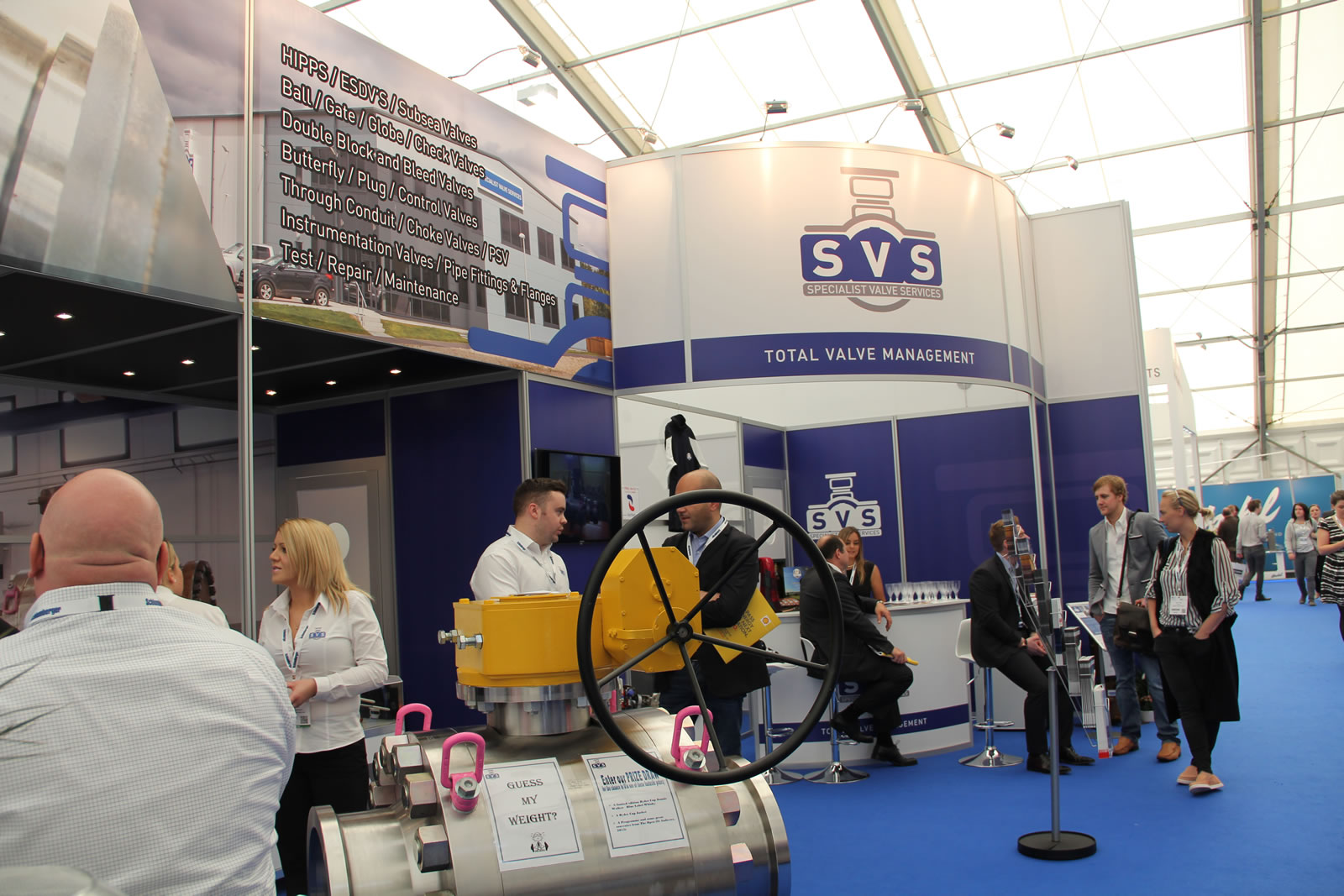 SVS Exhibit at Offshore Europe 2015-image-4