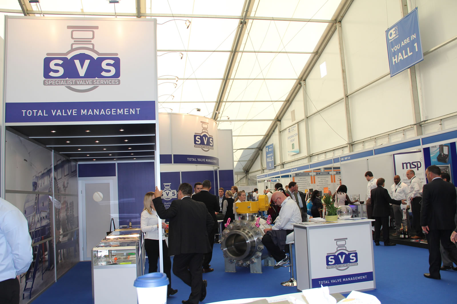SVS Exhibit at Offshore Europe 2015-image-5