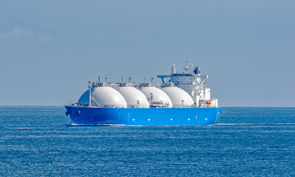 Liquefied natural gas (LNG) tanker