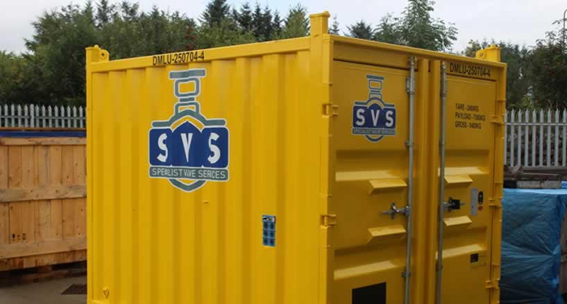 PSV Mobile Container